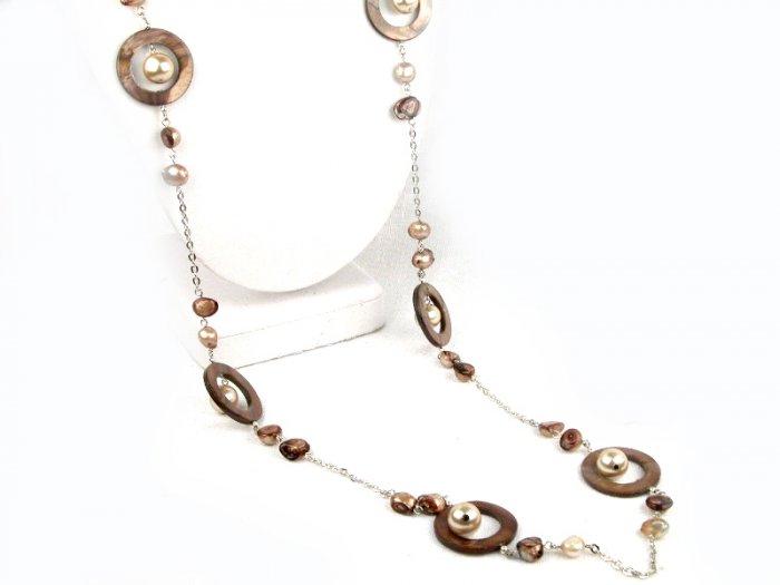 Fashion Jewelry BROWN CIRCLE