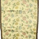 Large Vintage French Tapestry Table Runner Pastel Pink Blue Yellow Green & Cream FREE SHIPPING*
