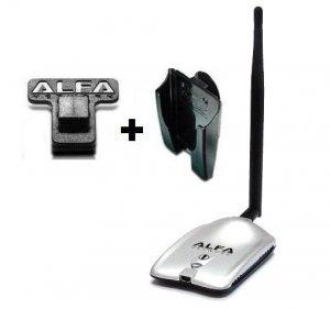 Alfa AWUS036H Long Range USB Wi-Fi Adapter With U Mount Holder