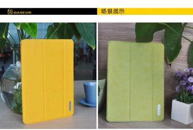 Tanger Tiger Baseus Folio Supporting Case For iPad mini (1/2/3 Retina)-Yellow Color