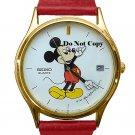 NEW Men's Disney Mickey Mouse SEIKO Date Watch