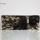 Lace Bow Sweet Evening Bag 48411#