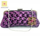 Sweet Checked Rhinestones High Quality Clutch Evening Bag 366#