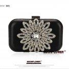 Sunflower Crystal Beaded Bling Chain Evening Bag 539#