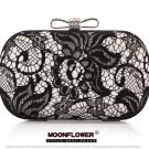 Gorgeous Lace High Quality Bow Hasp Rhinestones Bridesmaid Clutch Bags Evening Bags