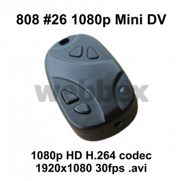 MINI DVR 808 #26 FULL 1080P HD H.264 CAMERA