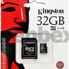 GENUINE KINGSTON MICRO CLASS 4 SD  32GB SDHC MEMORY CARD