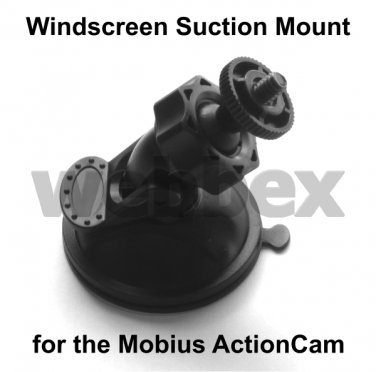 MOBIUS ACTIONCAM WINDSCREEN SUCTION MOUNT