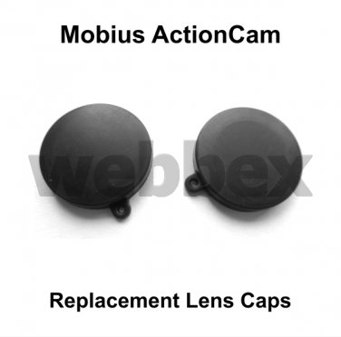 REPLACEMENT LENS CAPS FOR MOBIUS ACTIONCAM