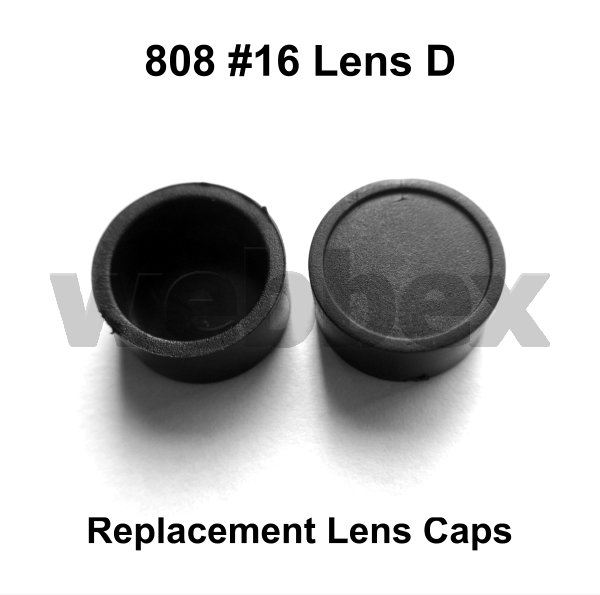 REPLACEMENT LENS CAPS FOR 808 #16 LENS D CAMERA