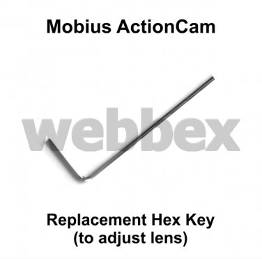 REPLACEMENT HEX KEY FOR MOBIUS ACTIONCAM