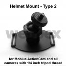 TYPE 2 808 #26 / MOBIUS ACTION CAMERA HELMET MOUNT
