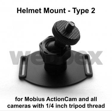 TYPE 2 808 #26 / MOBIUS ACTION CAMERA HELMET MOUNT
