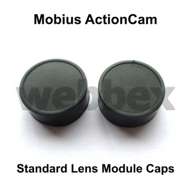 LENS CAPS FOR MOBIUS ACTION CAMERA STANDARD LENS MODULE