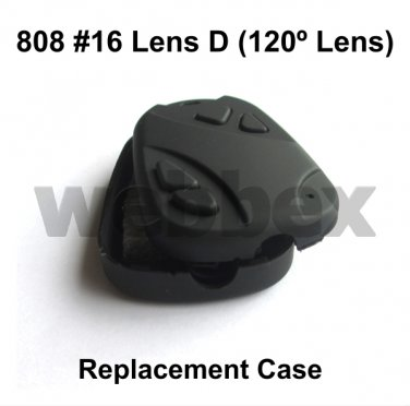 REPLACEMENT CASE FOR LENS D (120 DEGREES LENS) 808 #16 CAMERAS. CASE ONLY