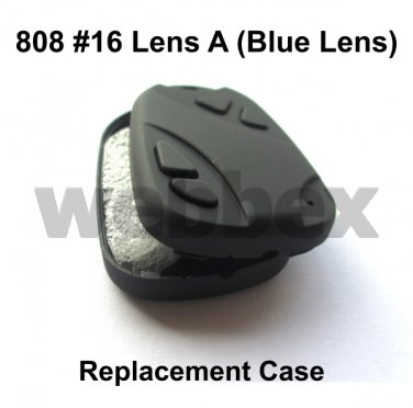 REPLACEMENT CASE FOR LENS A (BLUE LENS) 808 #16 CAMERAS. CASE ONLY