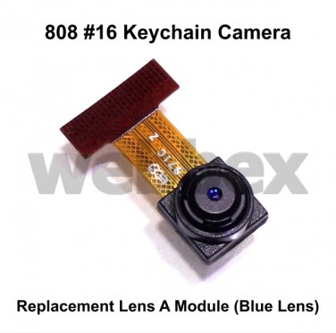 REPLACEMENT LENS A MODULE (BLUE LENS) FOR 808 #16 CAMERAS. LENS ONLY