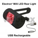 ELECTRON MILLI USB RECHARGEABLE REAR BIKE LIGHT
