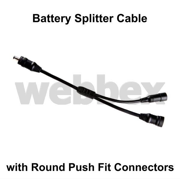 battery  u0026quot y u0026quot  splitter cable  push fit