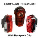 SMART LUNAR R1 REAR BIKE LIGHT WITH BACKPACK ATTACHMENT