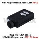 MOBIUS ACTION CAMERA V3 C2 WIDE-ANGLED MICRO HD FULL 1080P H.264 WITH A/V OUT