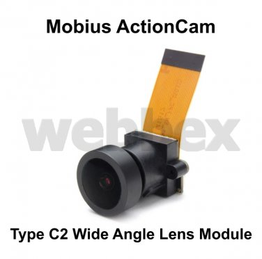 REPLACEMENT C2 WIDE ANGLE LENS MODULE FOR THE MOBIUS ACTIONCAM