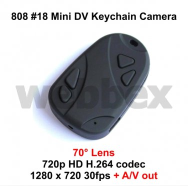 MINI DVR 808 #18 70° LENS MICRO HD CAMERA