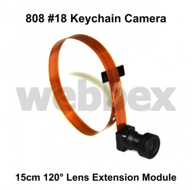 15CM 120° LENS EXTENSION MODULE FOR 808 #18 KEYCHAIN CAMERAS
