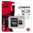 GENUINE KINGSTON MICRO SD CLASS 10 8GB SDHC MEMORY CARD