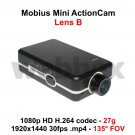 MOBIUS MINI LENS B 1080P 135° WIDE-ANGLED ACTION CAMERA