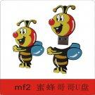 Lovely HoneyBee Brother design USB flash drive, USB flash disk,  Memory stick