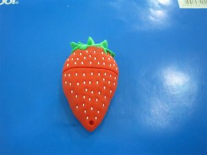 Foods style USB flash drive,  Strawberry design USB flash memory    8GB