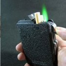 Free shipping !! New Automatic Ejection Butane Lighter Cigarette Case + cigarette lighter