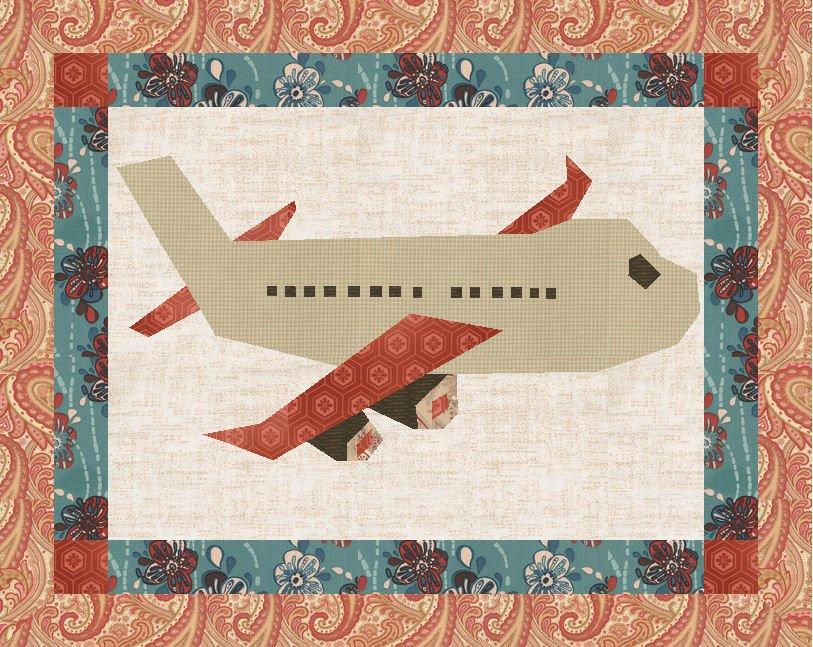 Pdf Pattern Download Jet Airplane Plane Foundation Paper