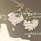Lovely White Bohemia Tassel Grape Fashion Earrings Women Lady Accessory New
