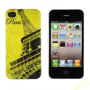 France Paris Eiffel Tower Case Cover for Iphone 4G