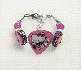 Hello Kitty Bracelet Guitar Pick