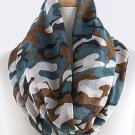 Camouflage Camo Infinity Scarf Wrap Cowl Cowgirl Hunter Fashion Lightweight