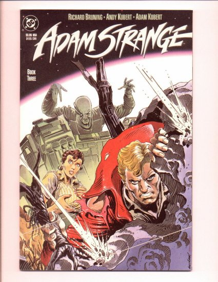 Adam Strange, Book #3, VF Condition