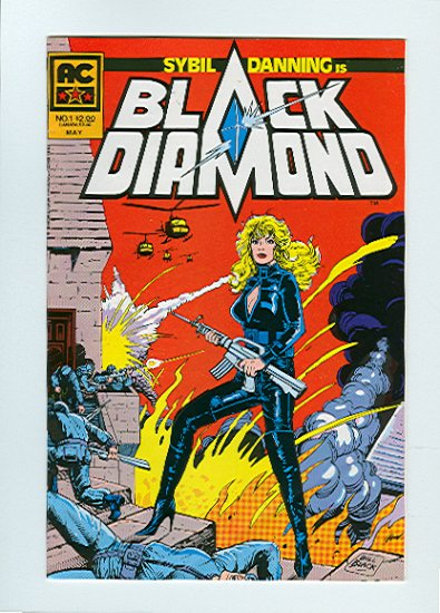 Black Diamond #1, VF Condition
