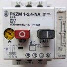 Moeller PKZM1-2,4-NA Overload Manual Disconnect Motor Prot 1 - 2.4 Amp PKZM124NA