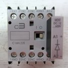 C3 Controls 300-C16 Relay C16N.22E 2 NO 2 NC Contacts 24 VDC Coil w/ Diode DC:12
