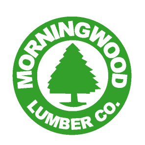 Morningwood Lumber Company Funny Vinyl Decal