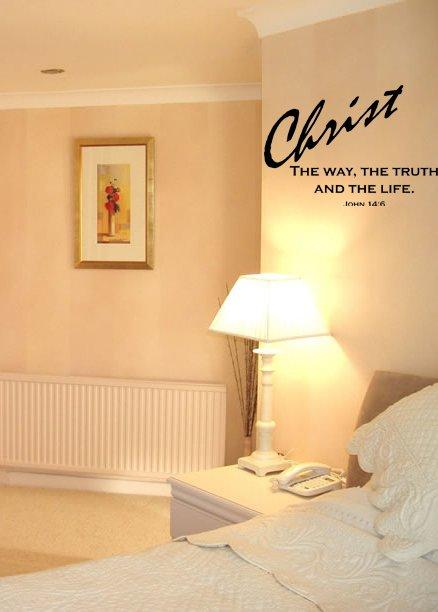 Faith Christian Quote Wall Art Vinyl Decal