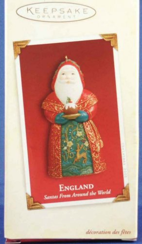 Santa from England - Santas From Around the World