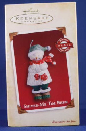 Hallmark Ornament Shiver-Me Tim BRRR