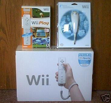 Nintendo Wii Console Bundle +14 Games +2 Remotes