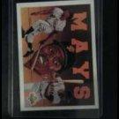 Willie Mays upper deck baseball heroes 1992 card