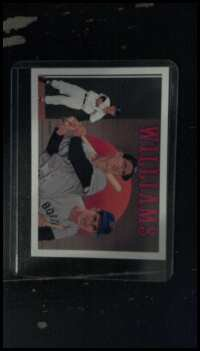 Ted Williams 1992 upper deck baseball heroes card. 36 of 36