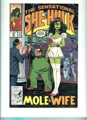 Sensational She Hulk (1989) Issue# 33 FN Marvel Comics